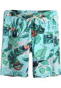 Bermuda Nick Menina Tropical Verde