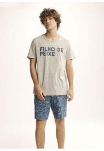 Pijama Com Estampa Tal Pai Tal Filho - 7Cbe1Aen11 Masculina - Masculino