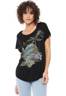 Camiseta Lez A Lez Havaii Preta