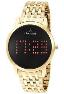 Relógio Feminino Champion Digital Ch40008V - Feminino-Dourado