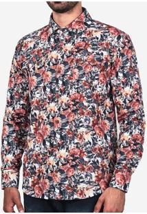 Camisa Floral Aquarela 200124