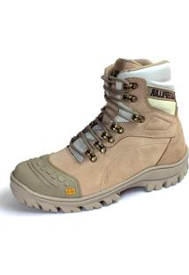 Bota Caterpillar Adventure Couro Off-White