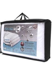 Travesseiro Fibrasca Personal Mix 3 Branco