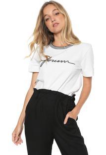 Camiseta Forum Lettering Branca - Kanui