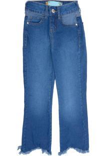 Calça Jeans Colcci Fun Menina Azul