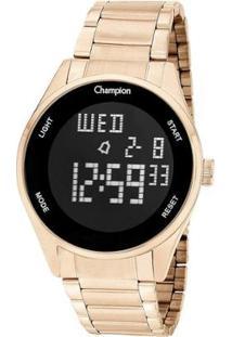Relógio Champion Digital Ch40231Z Feminino - Feminino-Dourado