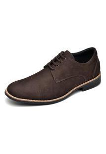Sapato Social Masculino Esporte Fino Go Well Shoes Marrom