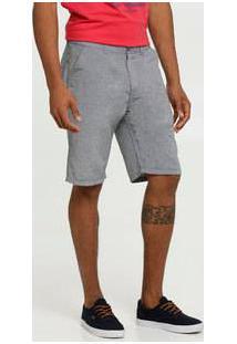 Bermuda Masculina Sarja Botonê Bolsos Marisa