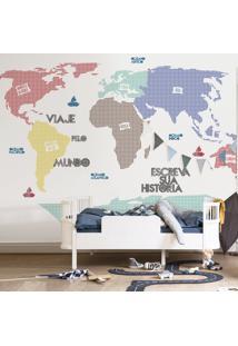 Mapa Mundi Xadrez
