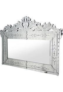 Espelho Agostin- Espelhado & Cinza- 90X120X1,6Cmrivatti
