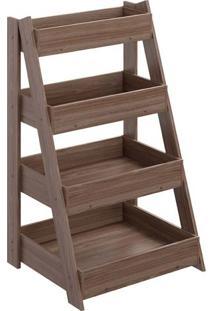 Estante Escada 1001 Life Carvalho Munique - Be Mobiliário