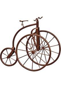Triciclo Decorativo Classic Marrom