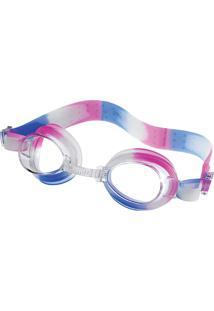 Óculos Para Natação Dolphin Pink Cristal Tamanho Único Speedo