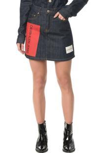 Saia Jeans Five Pockets - 36