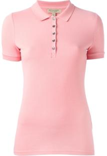 Burberry Camisa Polo - Pink   Purple 847bebabea623