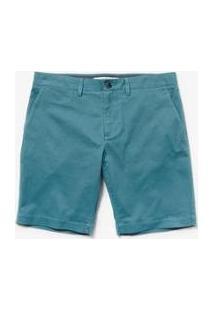Bermuda Lacoste Slim Fit Masculina - Masculino-Azul