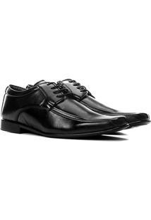 Sapato Social Walkabout Bico Quadrado Masculino - Masculino-Preto