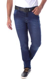 Calça 2199 Jeans Slim Traymon Azul