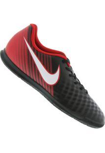 Chuteira Futsal Nike Magista Ola Ii Ic - Adulto - Preto Vermelho cc1d7cecc67a2