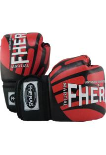 Luva Boxe Muay Thai Top - 10 Oz Elite - Fheras - Unissex