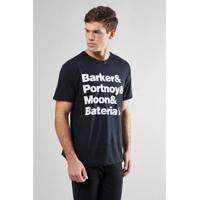 bfe430550e Camiseta Reserva Bateria Rock Masculina - Masculino-Preto