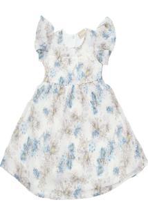 Vestido Milon Floral Off-White