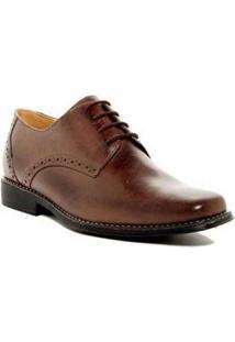 Sapato Social Derby Sandro Moscoloni Quincy Marrom