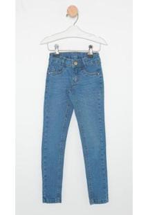 Calça Jeans Infantil Express Skinny Velvet Feminina - Feminino