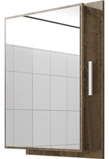 Espelheira Napoli- Madeira Rústica- 67X75X15,5Cmbechara