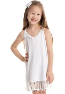 Vestido Oásis Alça Infantil