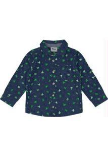 Camisa Infantil Trick Nick Azul