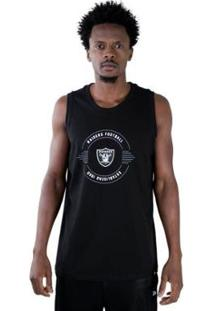 Regata Nfl Oakland Raiders Essentials Football New Era - Masculino