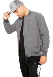 Jaqueta Bomber Adidas Originals Nmd Urban Tt Cinza