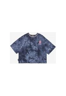 T-Shirt Tie Dye Azul Do Pernalonga Authoria
