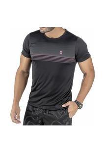 Camiseta C/ Estampas Preta