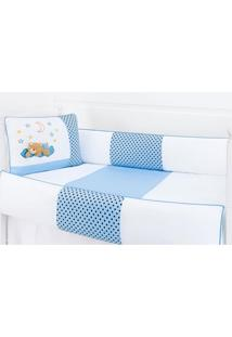 Enxoval Infantil Laura Baby Soninho Azul