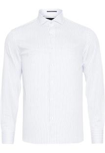 Camisa Masculina Listrada - Off White