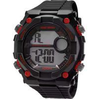 4c4a1e32296 E Clock. Relógio Mormaii Masculino ...