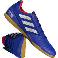 cb5dd2b8bd849 Chuteira Adidas Predator 19.4 In Futsal Azul