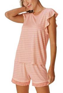 Pijama Feminino Curto Malwee 1000085598 01838-Salm