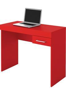 Mesa Para Notebook Cooler 1 Gaveta Vermelha - Artely