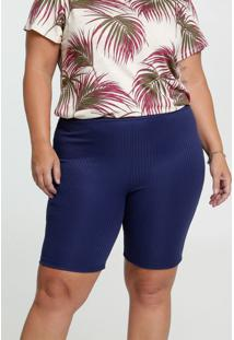 Bermuda Feminina Ciclista Plus Size Luktal