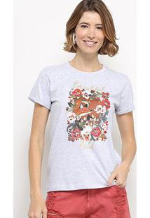 Camiseta Hapuna Baby Look Beautiful Wild Feminina - Feminino