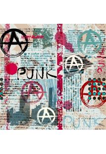Papel De Parede Adesivo Punk (0,58M X 2,50M)