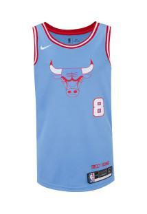 Camisa Regata Nike Chicago Bulls Zach Lavine - Masculina - Azul Claro