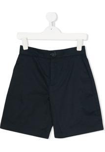 Marni Kids Shorts Chino - Azul