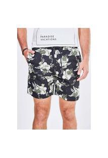 Bermuda Paper Estampa Floral