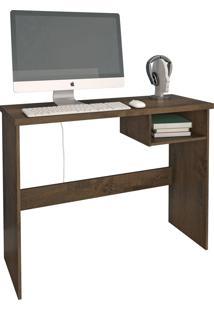 Mesa De Computador Detroit Mocaccino Rústico Atualle