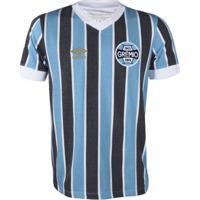 76bd0f1088234 Camiseta Masculina Umbro Grêmio Retrô 1983