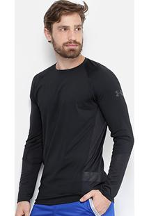 492c48347 Camiseta Under Armour Mk1 Ls Manga Longa Masculina - Masculino